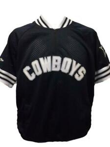 Neuf-Dallas-Cowboys-Hommes-Tailles-XS-2XL-4XL-5XL-Mitchell-amp-Ness-Maillot-Jersey