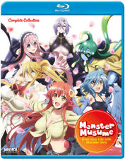 Monster Musume Everyday Life With Monster Girls Complete Anime Series 3 Disc