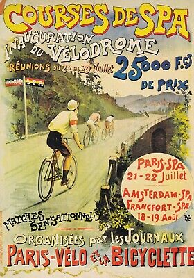 carte postale belgique affiche spa   eBay