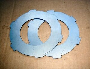 BSA-BANTAM-STEEL-CLUTCH-PLATES-SET-OF-EARLY-D1-UK-MADE-QUALITY-A804