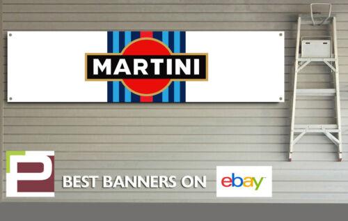 Martini Racing Logo Motorsport Banner for workshop, garage, pitlane etc