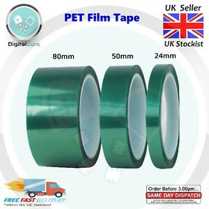 Details about Heat Resistant Polyester Film PET Tape 33m Self Adhesive -  Mylar Dupont 3D Lipo