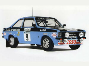 Trofeu 01:43 Ford Escort Mkii # 9 Rally Rally 1978 Clark / Wilson Nouveau