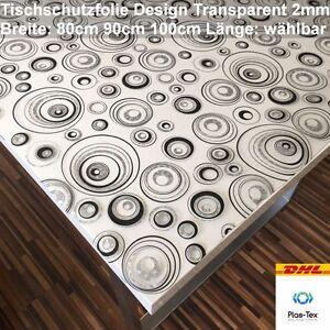Tischfolie-Tischdecke-Schutzfolie-mit-Muster-2mm-Transparent-Klar-Weich-PVC