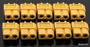 10-Genuine-AMASS-Female-XT60-XT-60-Battery-Bullet-Connectors-Plugs