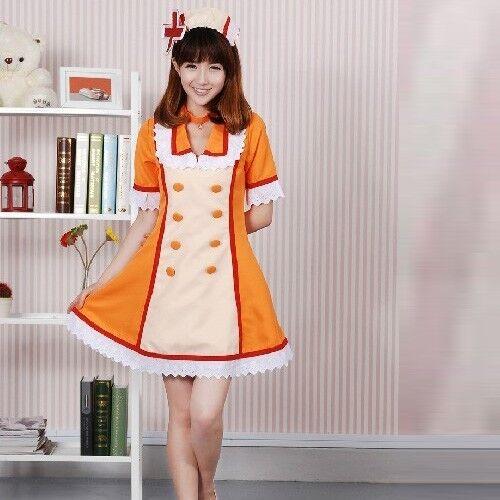 Vocaloid Hatsune Miku anime nurse cosplay costume miku dress 4 Color