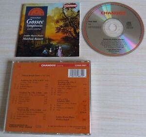 CD-CLASSIQUE-FRANCOIS-JOSEPH-GOSSEC-SYMPHONIES-LONDON-MOZART-PLAYERS-BAMERT