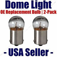 Dome Light Bulb 2-pack Oe Replacement - Fits Listed Citroen Vehicles - 89