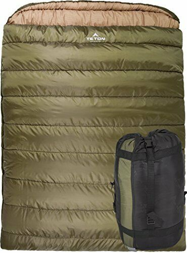 Teton Sports Mammouth Taille Queen sac de couchage