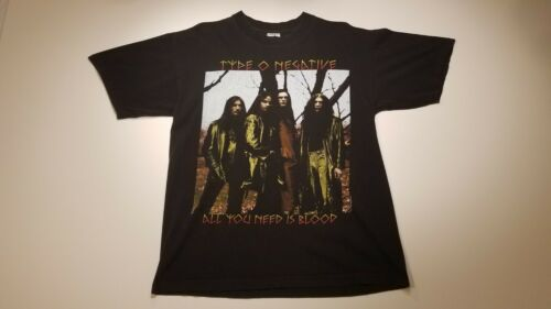 Vintage Type O Negative All You Need Is Blood T-sh