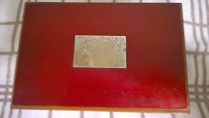 Avon-Smile-Red-Wood-Musical-Jewellery-Box