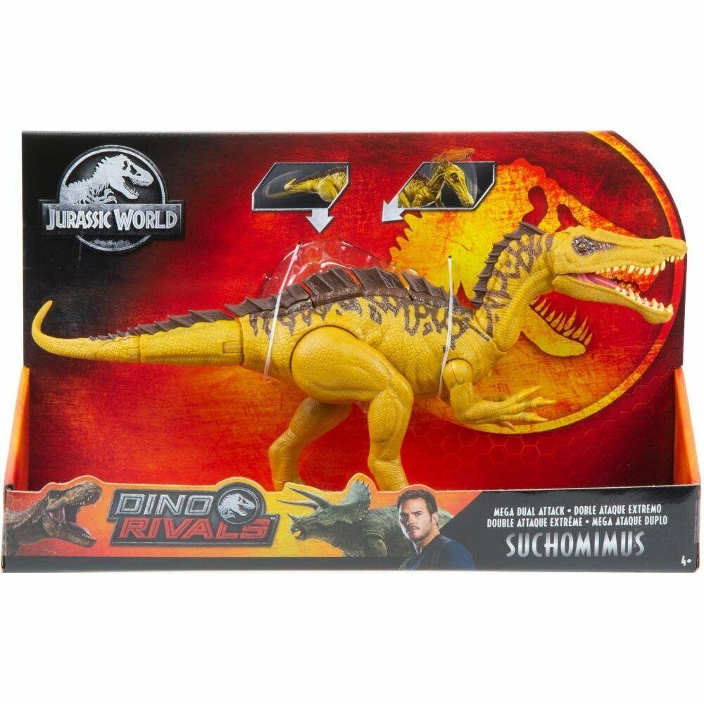 Jurassic World Dino rivales Mega doble ataque Suchomimus Nuevo