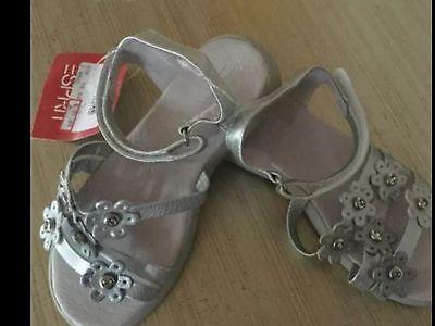 Esprit Sandalen silber Mädchen Schuhe Gr. 28 neu