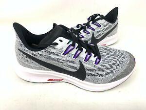 Nombre provisional Tacón Huracán  nuevo! juvenil chica'S Nike Air Zoom Pegasus 36 Zapatillas  negro/GRY/púrpura 143P Tz | eBay