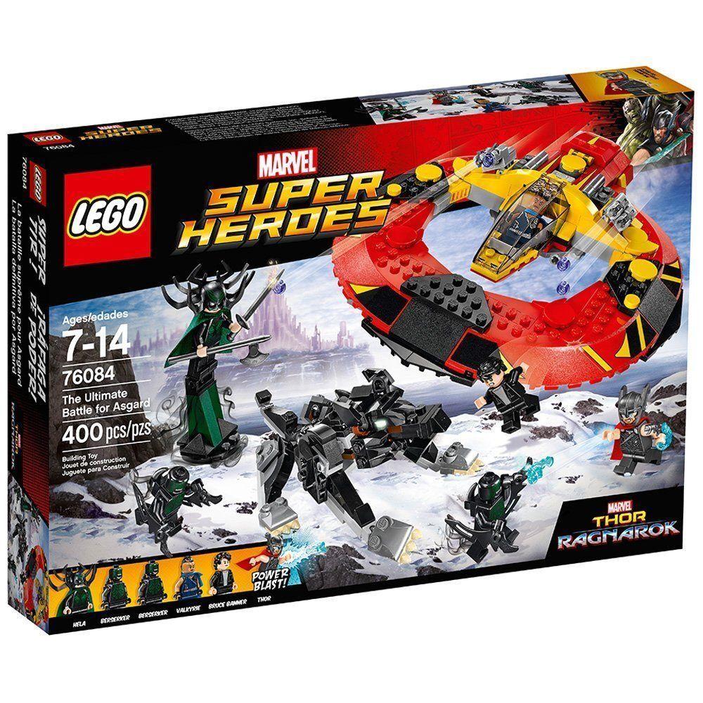 76084 ULTIMATE BATTLE FOR ASGARD lego NEW legos set THOR hela valkyrie RAGNAROK