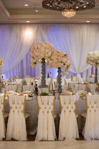 100 Chiffon Chiavari Chair Sash Bulk Discount Wedding Sashes Ebay