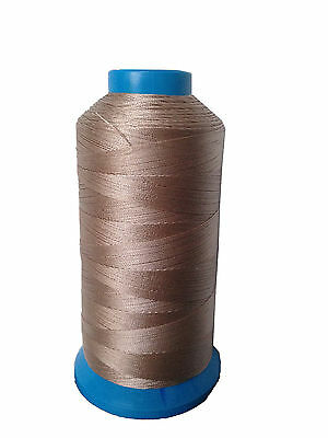 Khaki Bonded Nylon #92 T90 sewing Thread for canvas outdoor leather Upholstery