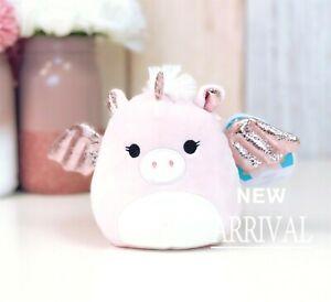 "*SALE* KellyToy Squishmallow 5"" Grecia the Pink Pegasus NEW HTF LT ED Plush Toy"