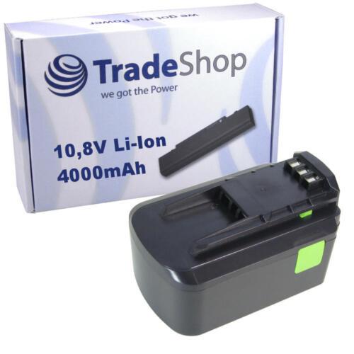 Trade-Shop AKKU 10,8V 4000mAh für Festool Festo T12+3 C12 Li BPC 12 Li BPC12 Li