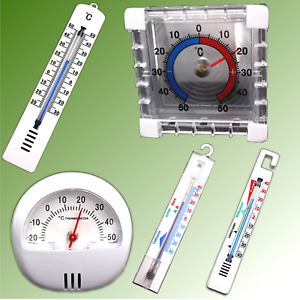 Fensterthermometer Thermometer Temperatur Aussenthermometer Termometer