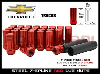 20 Black Closed End Spline 14x1.5 Lug Nuts Fits Jeep Grand Cherokee 2011-2014