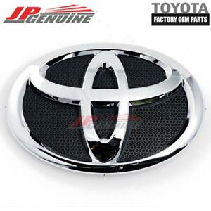 Image Is Loading Genuine Oem Toyota Camry Hood Grill Black Amp