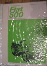 ✪✪Traktor/Trecker/Schlepper Landmaschinenprospekt FIAT 500   Drucknr. 4247