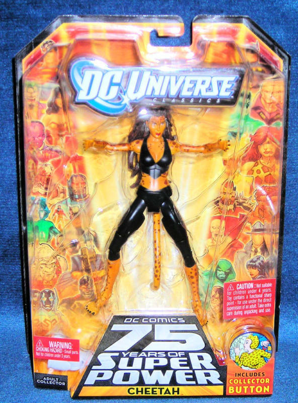 Cheetah - dc - universum variante barbara ann minerva legion of doom - legenden
