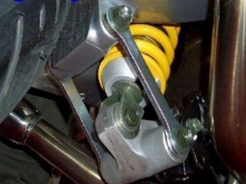 40mm höher Jack Up Kit RAC Heckhöherlegung Suzuki DL 650 V-Strom 2004-2011