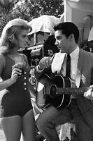 Viva Las Vegas Ann-margret Elvis Presley By Flamingo Hilton 11x17 Mini Poster