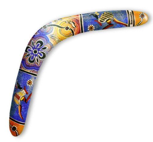 BoomerangFan Bumerang Aboriginal Profi Bumerang für Rechtshänder und Linkshänder