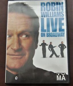 Robin Williams - Live On Broadway (DVD, 2002) ships free ...