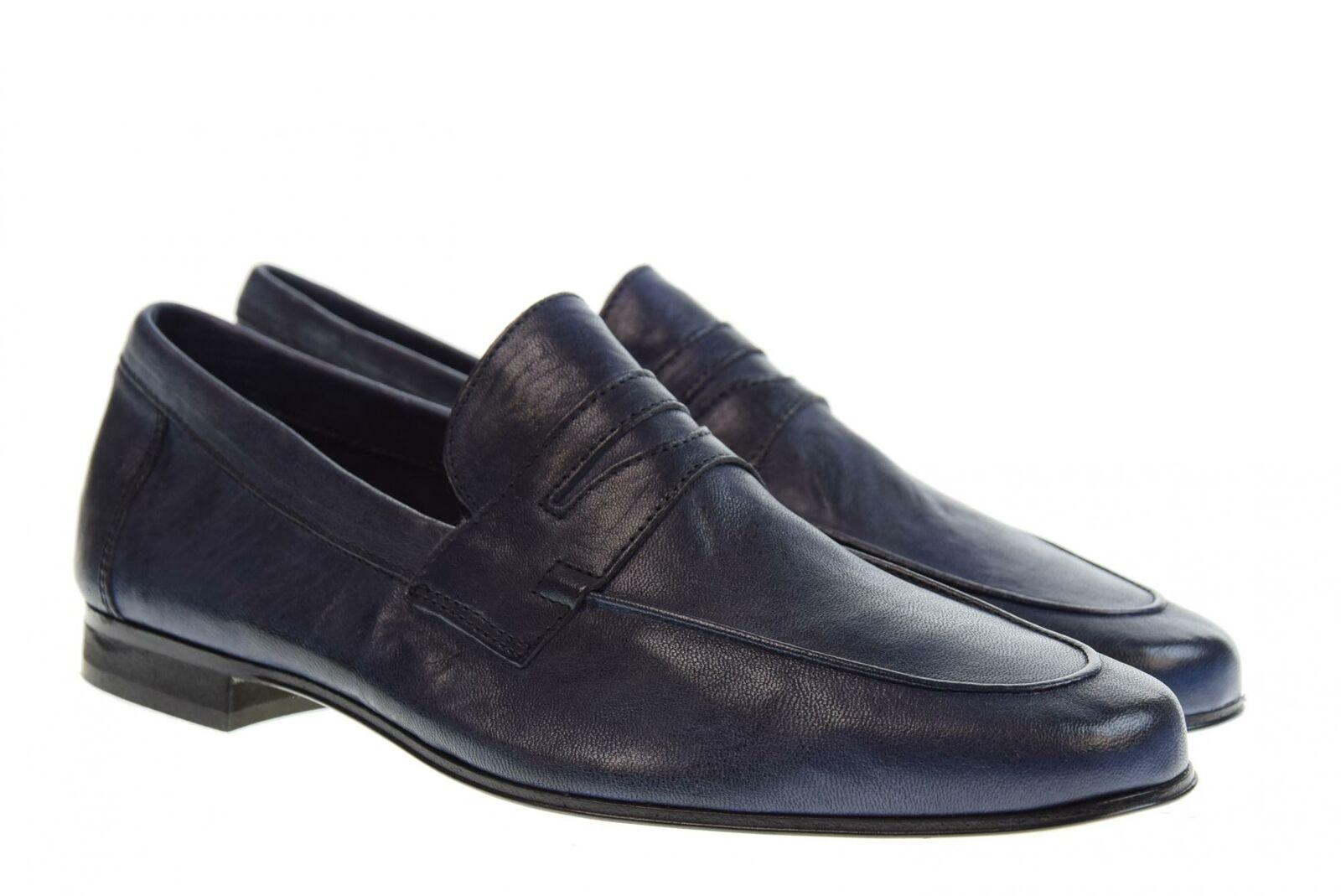 Antica Cuoieria P19s zapatos hombre mocasines 20115-O-V07 OYSTER ABISSO