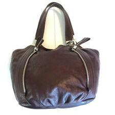 B.Makowsky Giamma Leather /& Suede Hobo Bag with Hinge Emerald Green Purse NWT