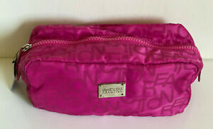 NEW-KENNETH-COLE-REACTION-PINK-LARGE-TRAVEL-KIT-MAKEUP-COSMETIC-POUCH-CASE-SALE