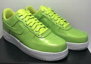 Details about Nike Mens Size 9 Air Force 1 '07 LV8 AF1 UV Cyber Green Shoes AJ9505 300