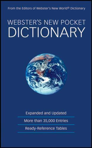 Webster's New Pocket Dictionary by Agnes (2008, Paperback)
