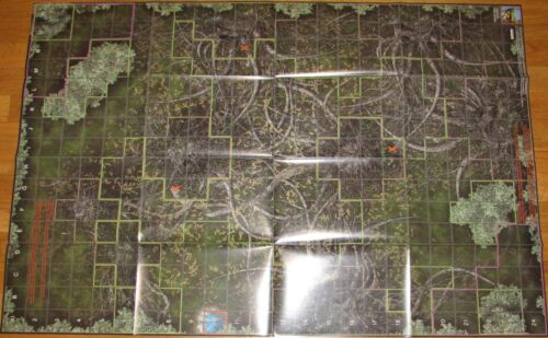 FANGORN FOREST / EDORAS Lord of the Rings The Two Towers HeroClix LOTR OP MAP