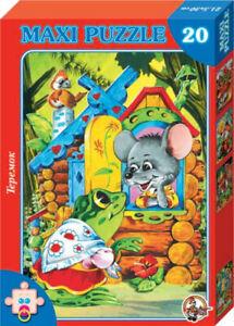 Maxi Jigsaw Puzzle 20 Elements The Wooden Hut Teremok ...