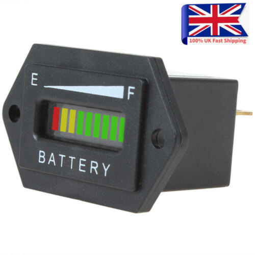 36V LED Battery Indicator Charge Status Meter Gauge Auto Battery Capacity Tester