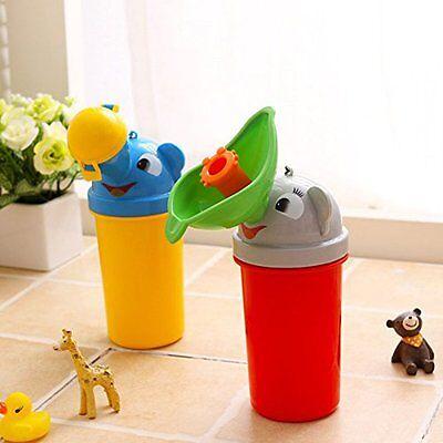 Portable Kids Children Urinal Car Travel Toilet Potty Training Pee Camping 500ML
