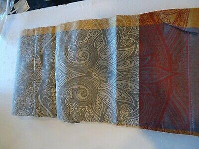 "NWT~  1 Williams Sonoma VICTORIAN SUNRISE 108 x 16/"" Tablecloth Runner Orig $50"