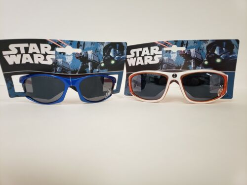 Lot of 2 pairs Star Wars Kids Sunglasses R2-D2 and BB-8 Set New!
