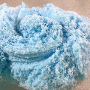 SLIME-034-Sky-Blue-034-CLOUD-Fluffy-Soft-Snow-Size-2-4-6-8-12oz-Handmade-Choice-Scent
