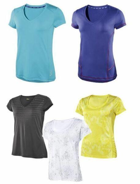 Damen Funktionsshirt Fitness Sport Jogging Shirt Laufshirt Laufen Sportshirt