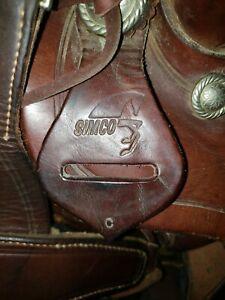 Simco Pro Roping Saddle