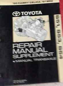 1990 toyota camry celica 1991 mr2 repair manual supplement manual rh ebay com Toyota MR2 Spyder 2005 Toyota MR2 Spyder