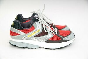 Montrail-Fairhaven-Trail-Running-Shoes-Red-Grey-GL2122-672-US-9-AS-NEW