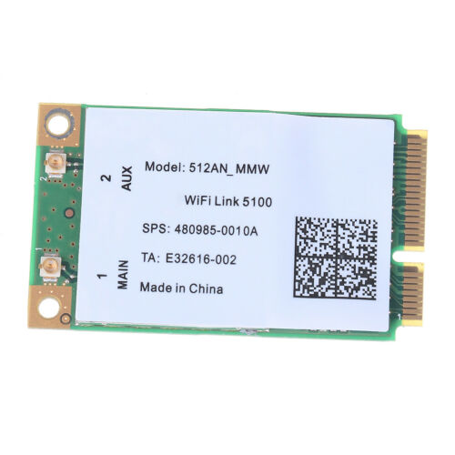 300M mini pci-e wireless wlan card 2.4//5GHz for link 5100 wifi 512an/_mmw CH