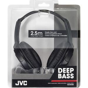 JVC-HARX330-Full-Size-Over-Ear-Stereo-Headphones-Black-2-5M-Cord-For-DJ